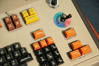 Aston keyboard detail