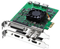 Decklink Studio HD/SD I/O card
