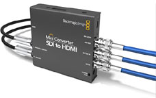 Blackmagic SDI HDMI Mini-Converter
