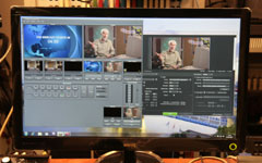 Live web streaming and vision mixing from the desktop